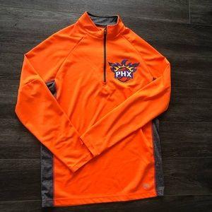 Phoenix Suns Quarter Half Zip Sweatshirt